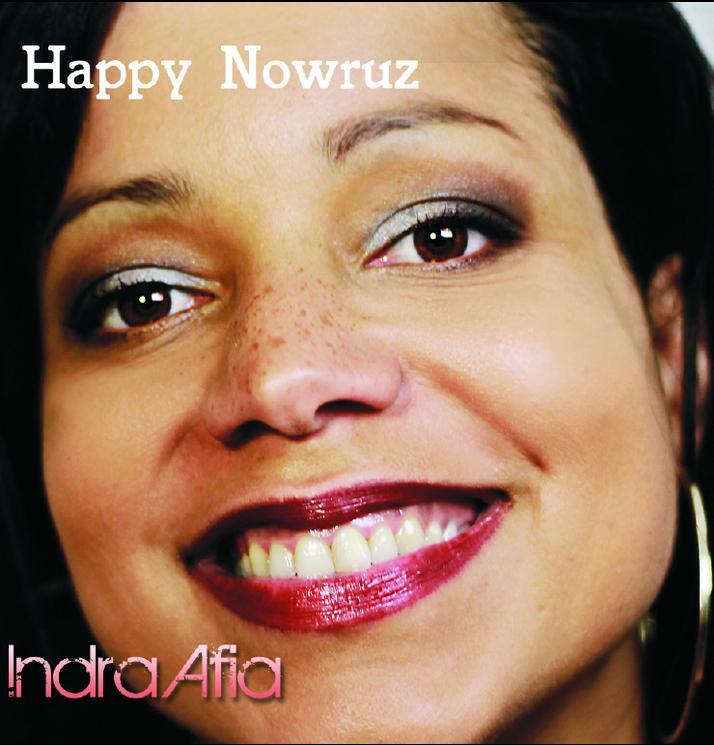 Frohes Nowruz_Live von Indra Afia. ©hafis-gesellschaft